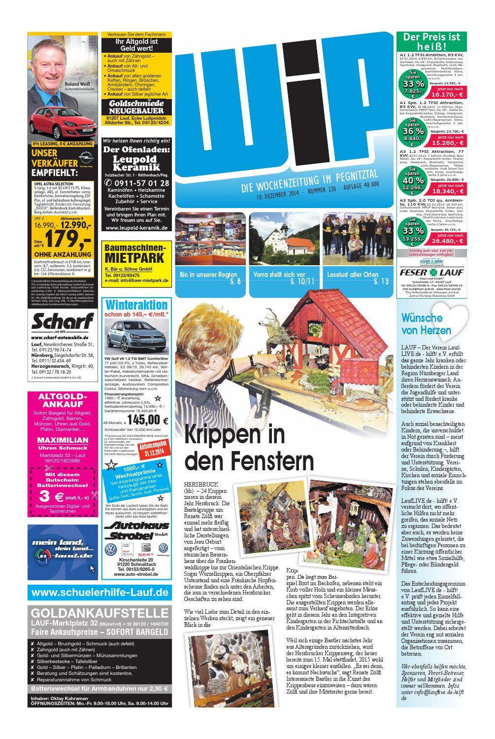 WiP 10.12.2014 by Pfeiffer Medienfabrik GmbH & Co. KG - issuu