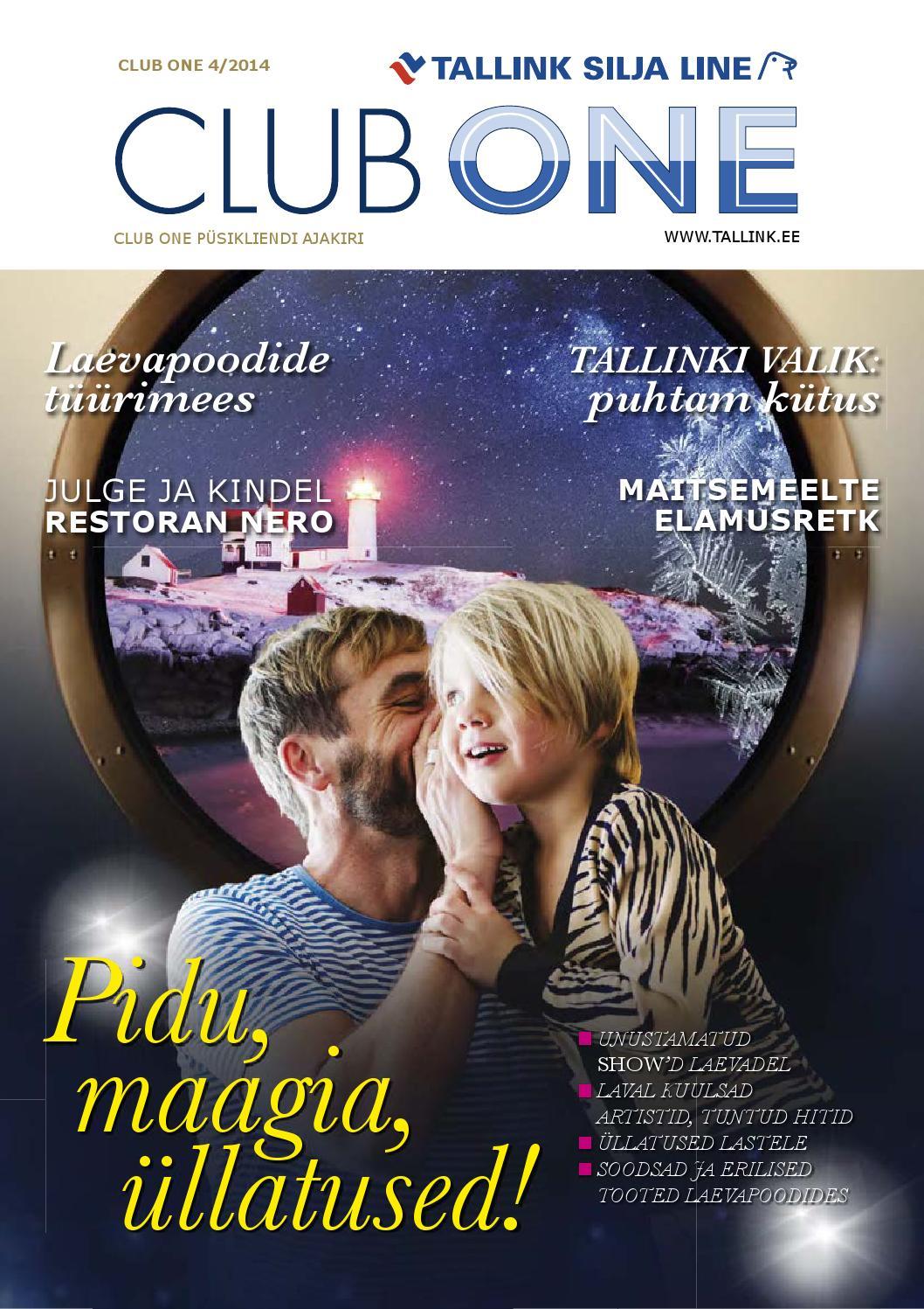 840003b03e3 Club One 4/2014 by Tallink Eesti - issuu