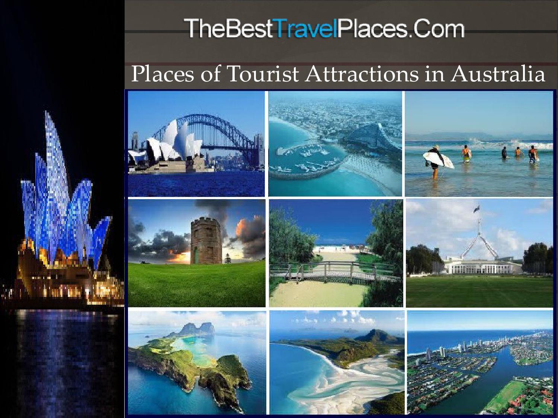 Great Tourist Attractions In Australia