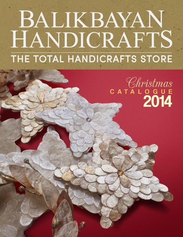 Balikbayan Handicrafts Christmas Catalogue 2014 By Balikbayan