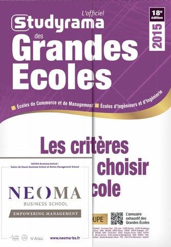 Les Grandes Ecoles Dingénieur 2015 By Docbayonne Issuu