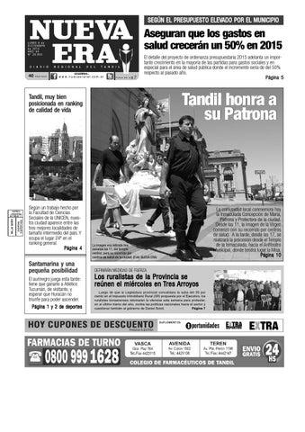 2acf1eff4 2014 12 08 by Diario NUEVA ERA Tandil - issuu