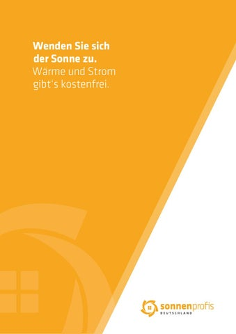 Sonnenprofis Broschüre 2015+ by Dominic Multerer issuu