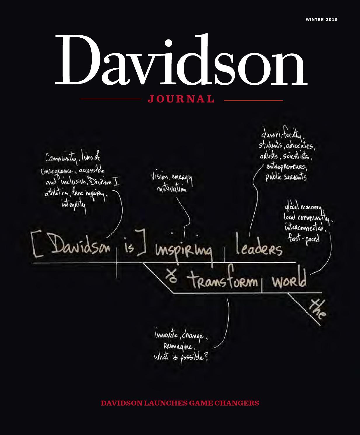 Davidson journal winter 2015 by davidson journal issuu stopboris Gallery