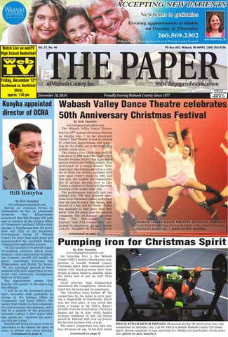 Dec 10, 2014 by The Paper of Wabash County - issuu