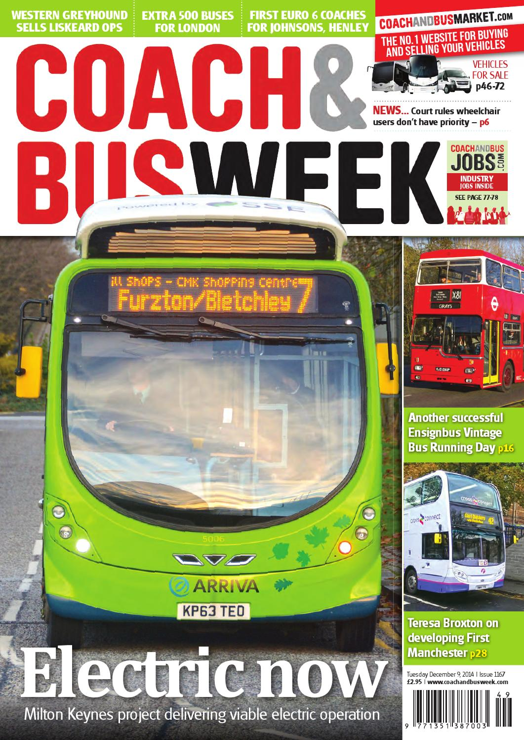 Coach Bus Week Issue 1167 By And Group Travel Wolsten Wiring Diagrams Heated Mirrors World Issuu