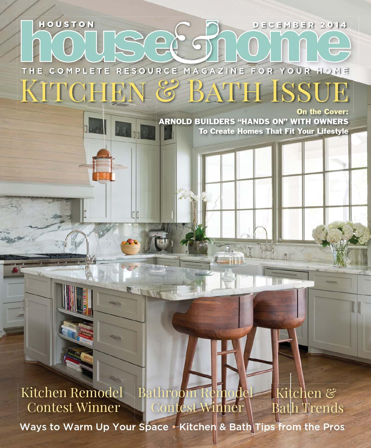 Houston House & Home December 2014 by Houston House & Home Magazine ...