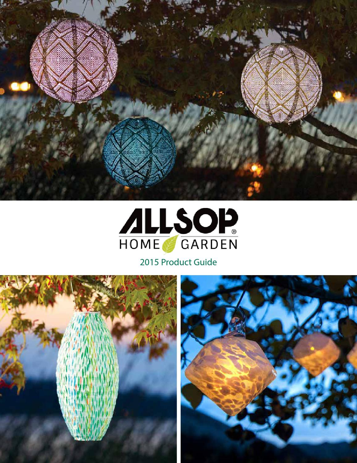 Allsop Home Garden 2015 Catalog By Allsop Garden Issuu