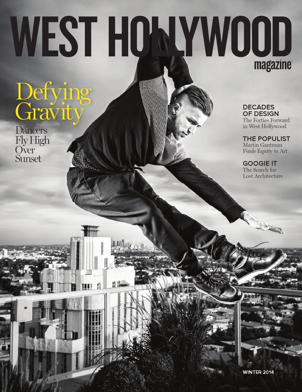 c80354e9fbc0 West Hollywood Magazine Winter 2014 by West Hollywood Magazine - issuu