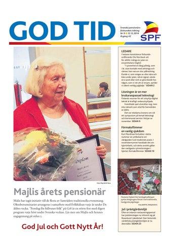 God Tid 9 2014 by Svenska pensionärsförbundet 459d5ebcd44af