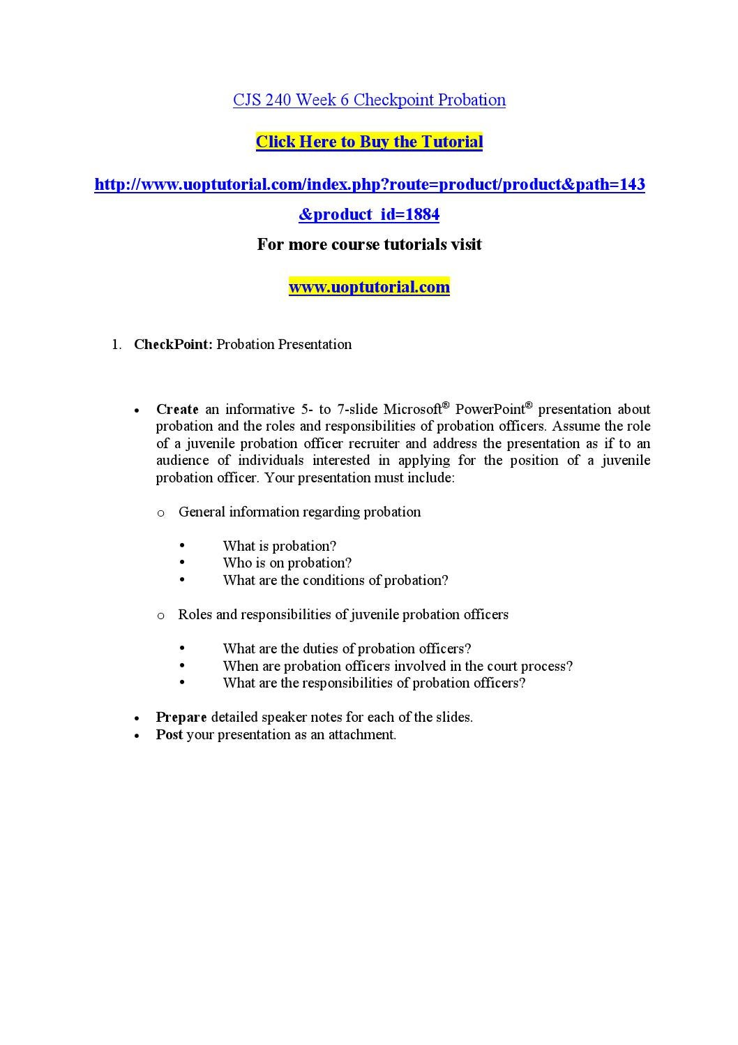 CJS 240 Uop courses/Uophelp Essay