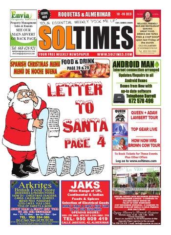 337ec67e90 Roquetas 466 by Sol Times - issuu