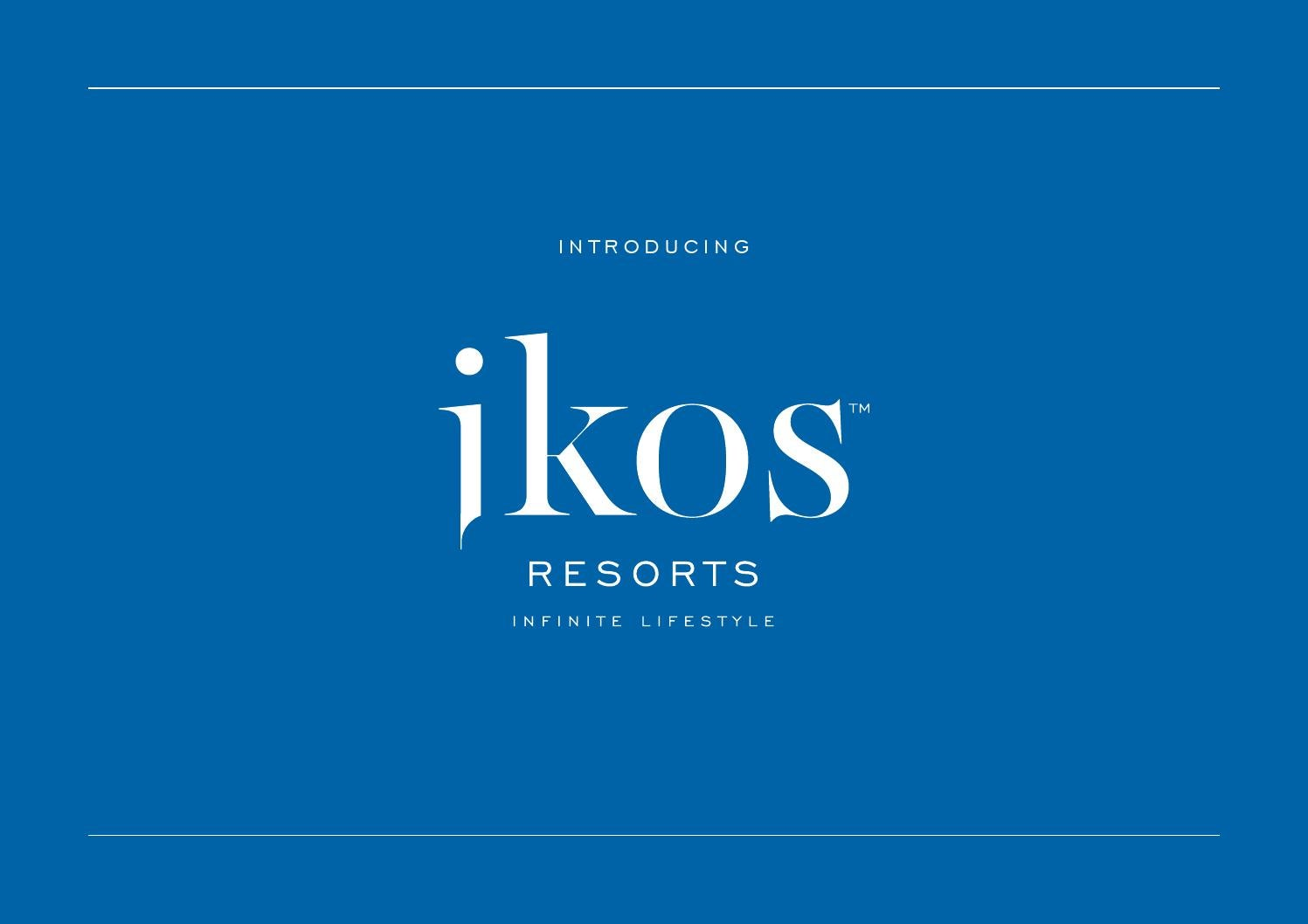 Ikos Resorts Corporate Presentation By Ikos Resorts Issuu
