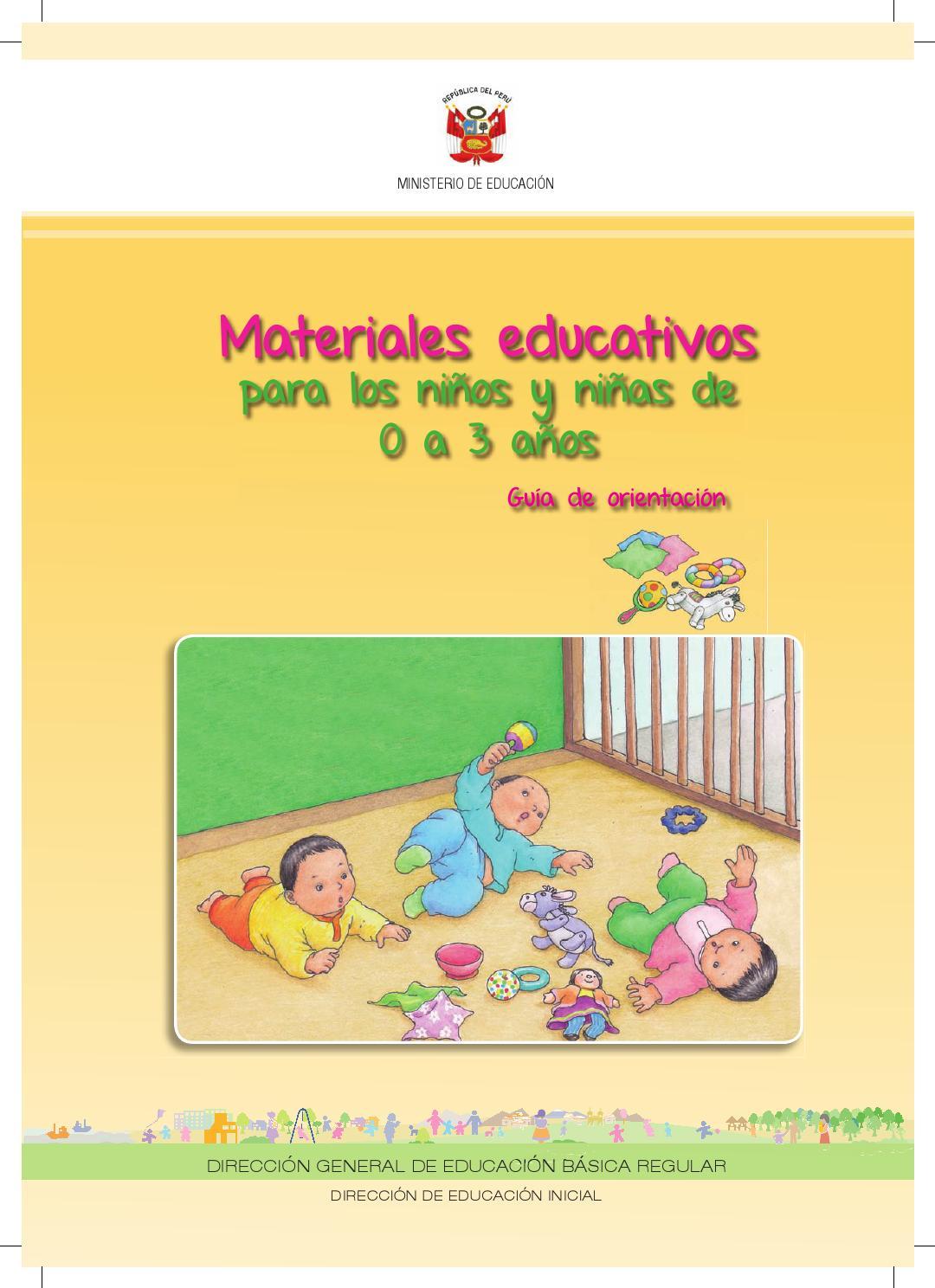 3 Educativos Pikler Kris Issuu Guia Años Loczy By 0 Materiales xtsrdCQh