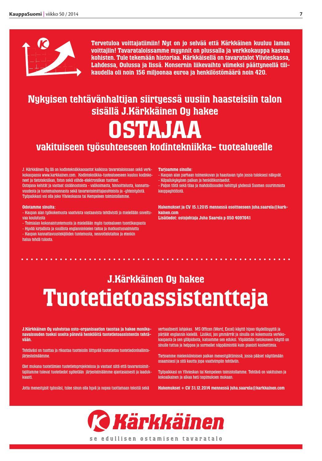 Kahvinkeittimiä pop-up-liikeistä Suomen väreissä