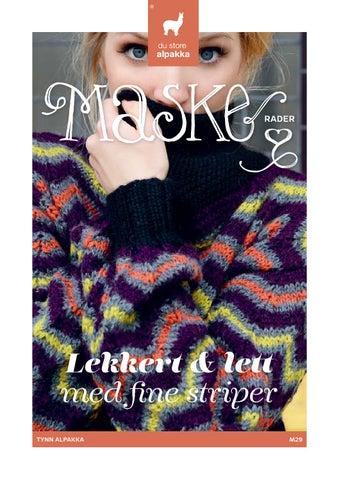 049a15a8 MASKErader 29 Tynn Alpakka by SITERT - issuu