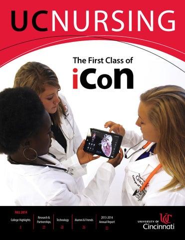 Uc Nursing Magazine Fall 2014 By Uc College Of Nursing Issuu