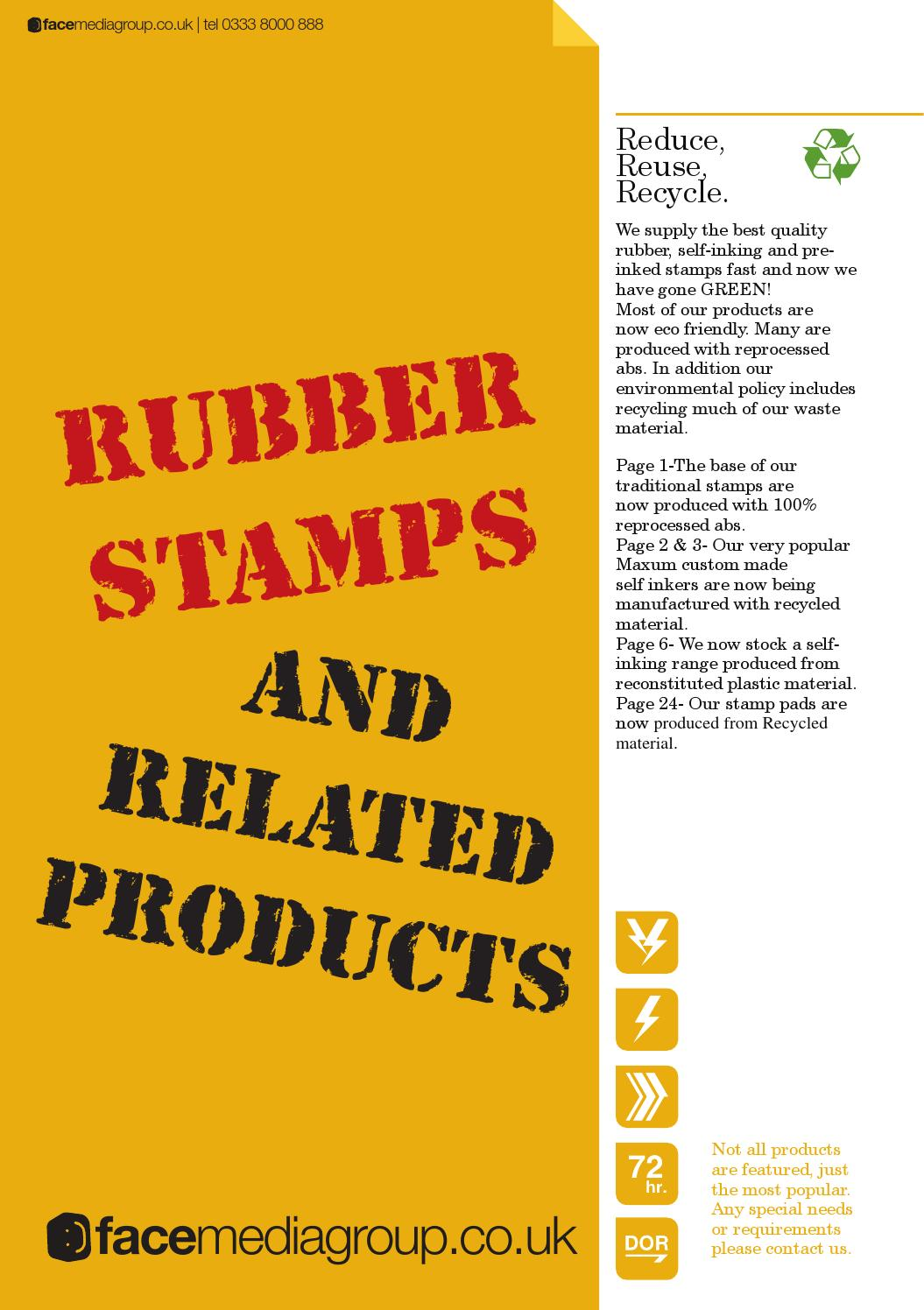 Rubberstamps 2015 From Face Media Group By Facemediagroup