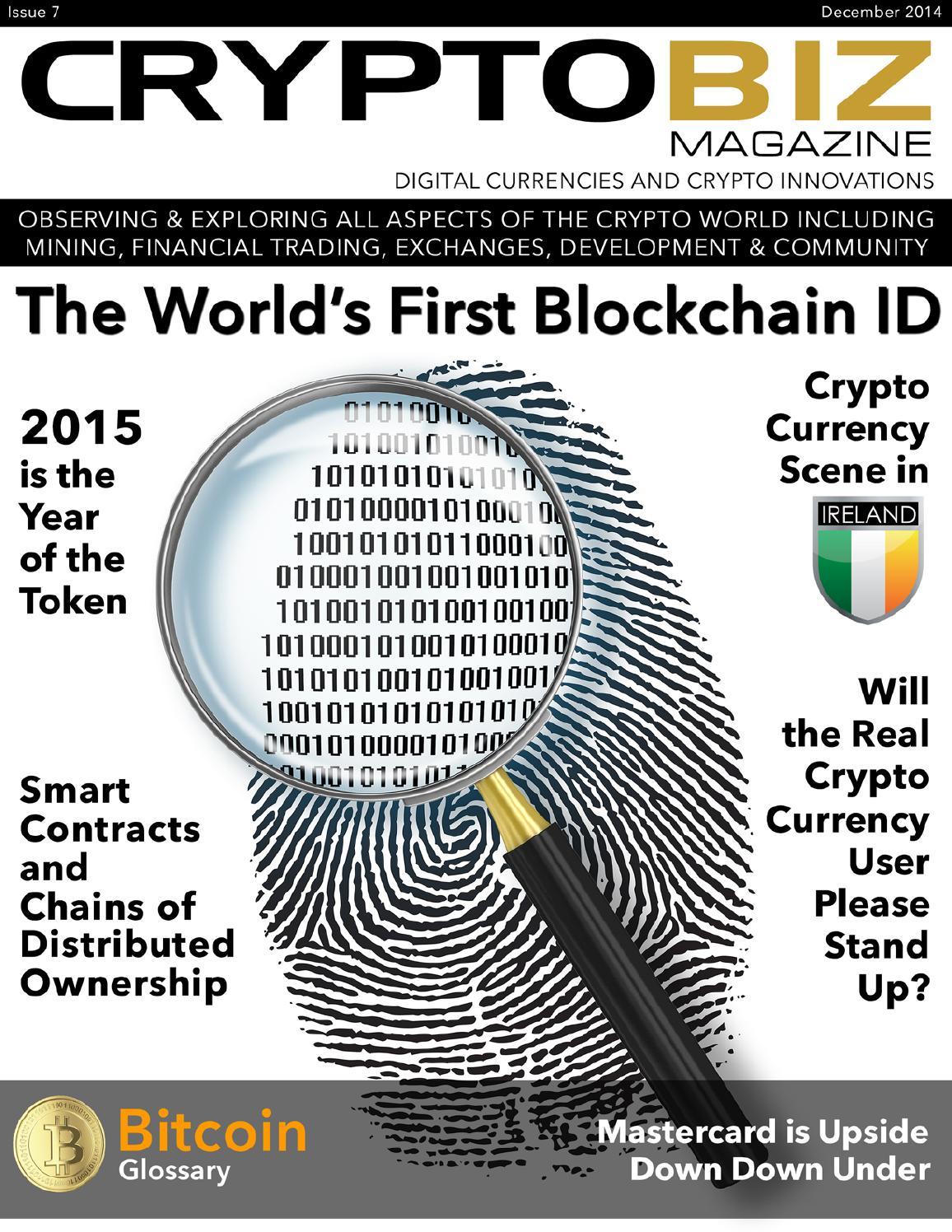 December 2014 CryptoBiz Magazine, Issue 07 by CryptoBiz