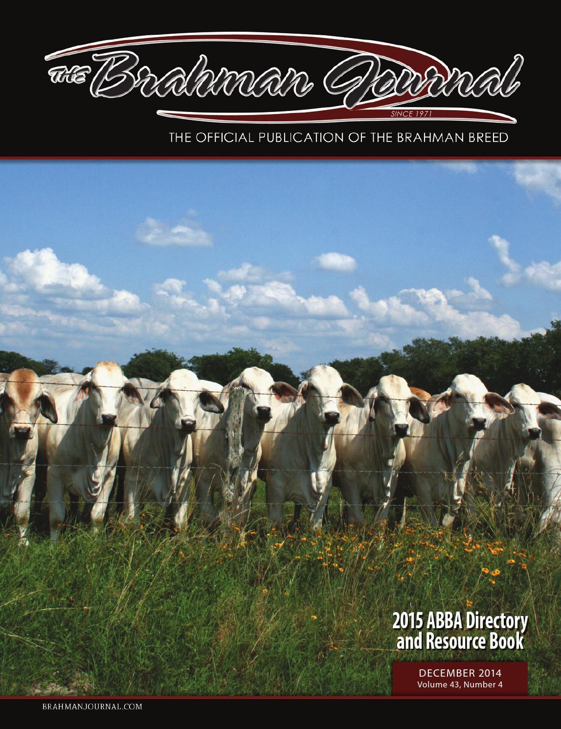 The Brahman Journal December 2014 by Caballo Rojo Publishing - The Brahman  Journal - issuu