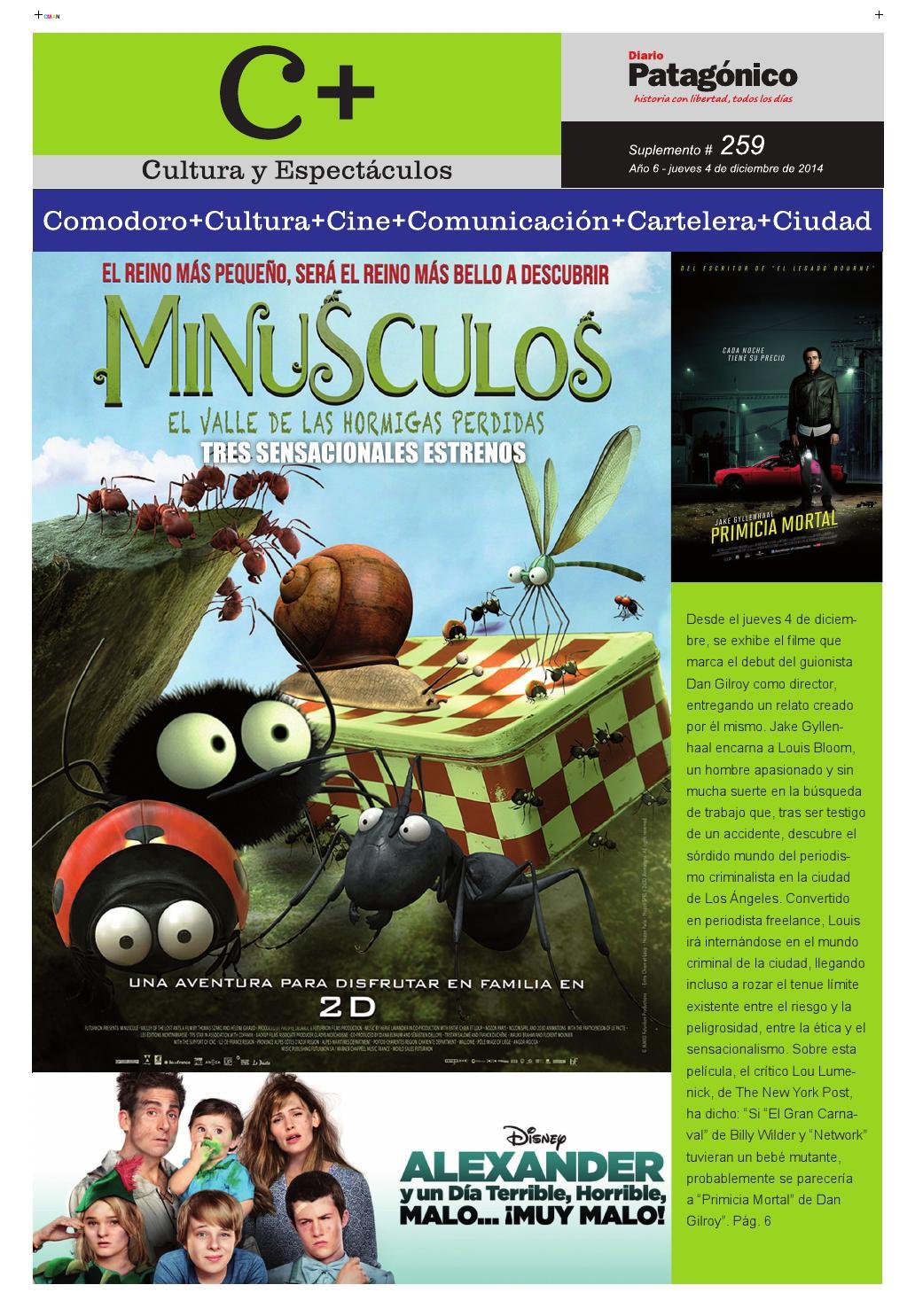 Cmas 259 By Sudestada Cinematografica Issuu