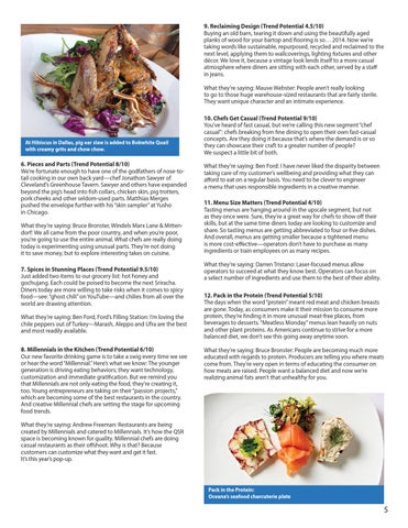 Food trends 2015 by Sysco Eastern Maryland - issuu
