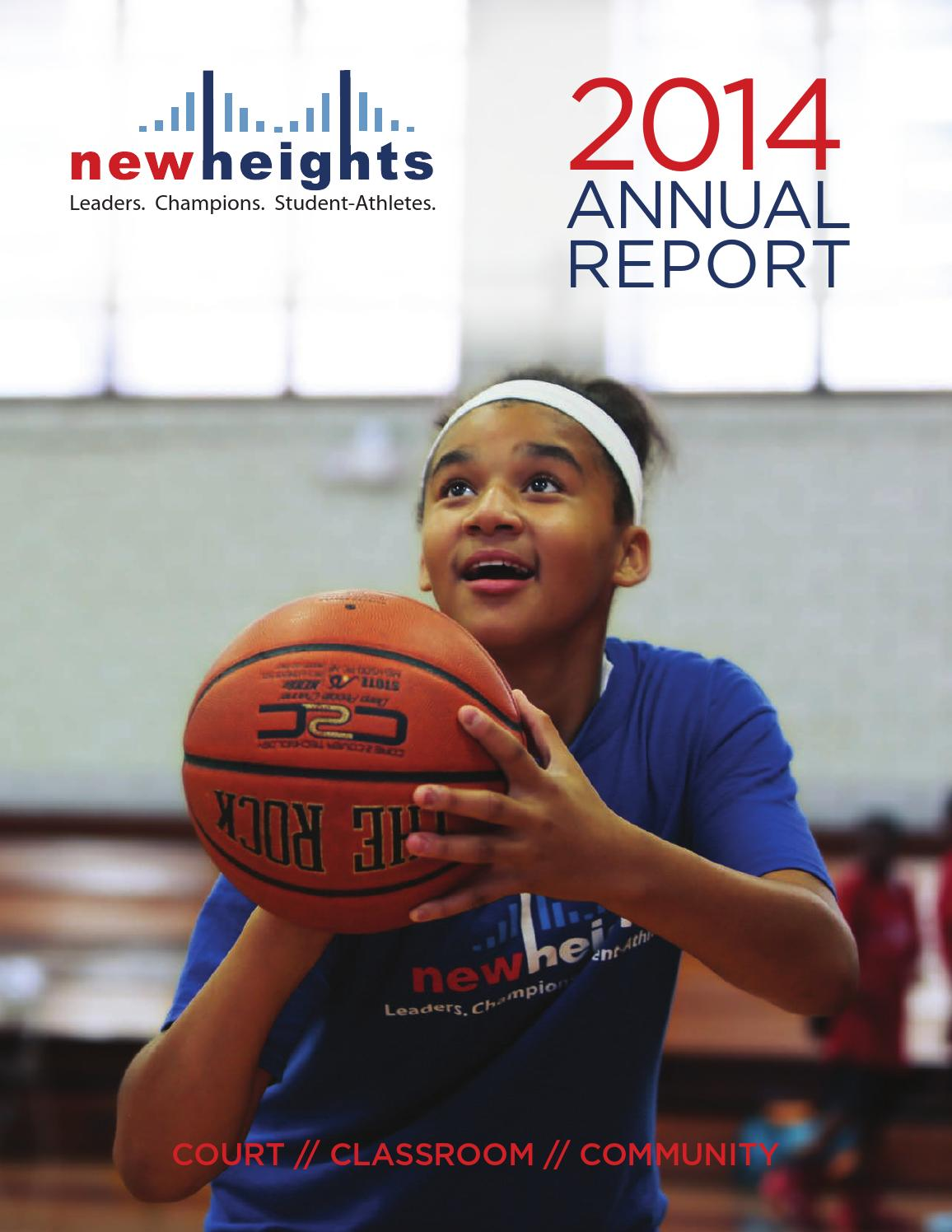 New Heights 2014 Annual Report by New Heights issuu
