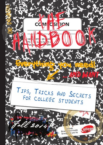 The handbook fall 2014 by times media group issuu go devils fandeluxe Gallery