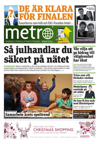 20141211 se goteborg by Metro Sweden - issuu 38f88d053d9dc