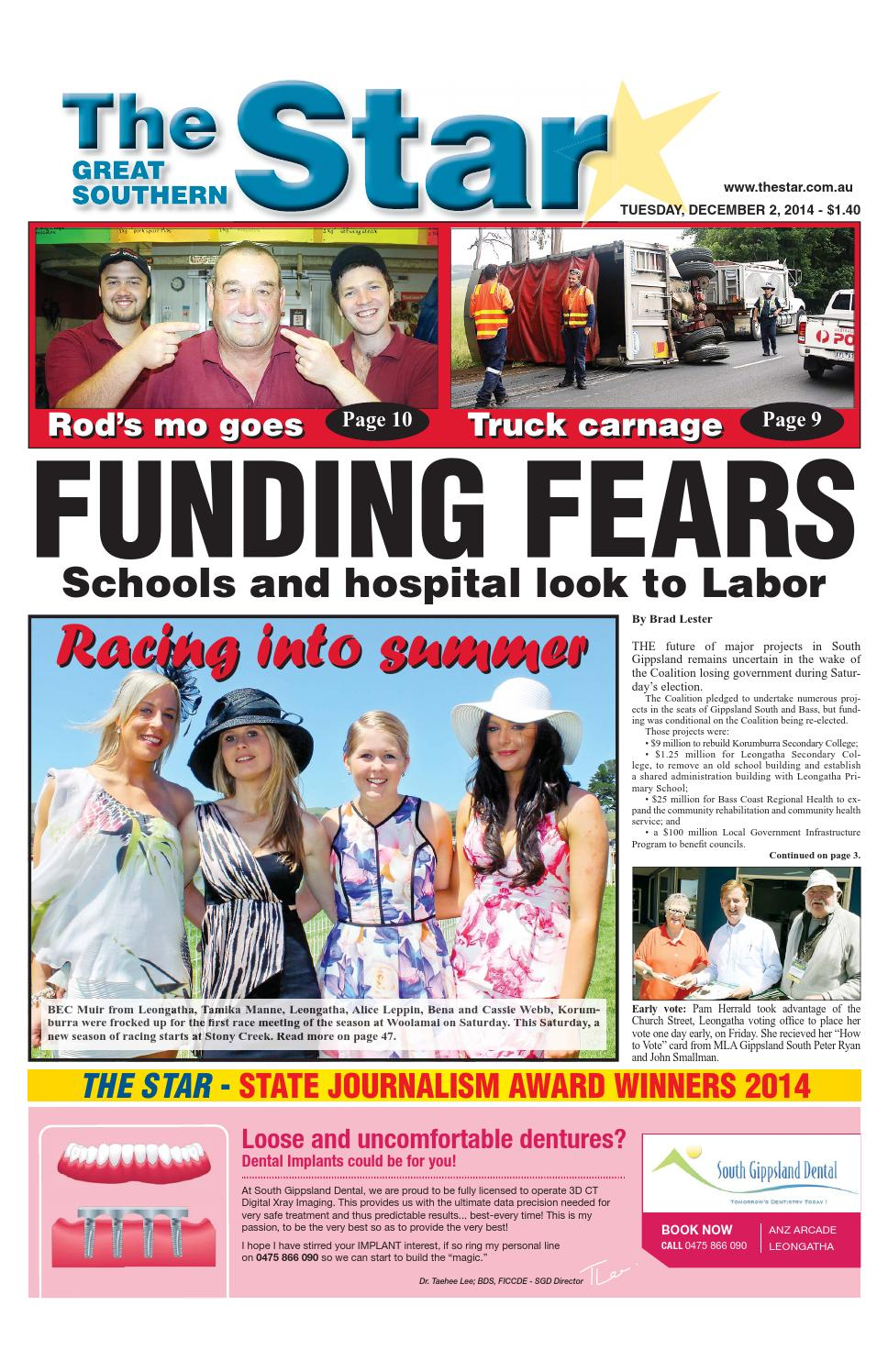 The Great Southern Star - December 2, 2014 by The Great