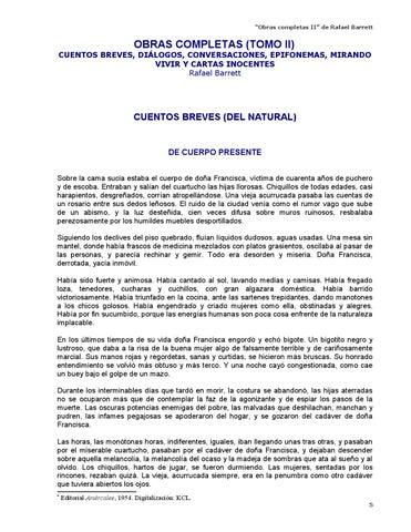 fdbd3a3d420a Obras completas II - Rafael Barrett by Kclibertaria - issuu