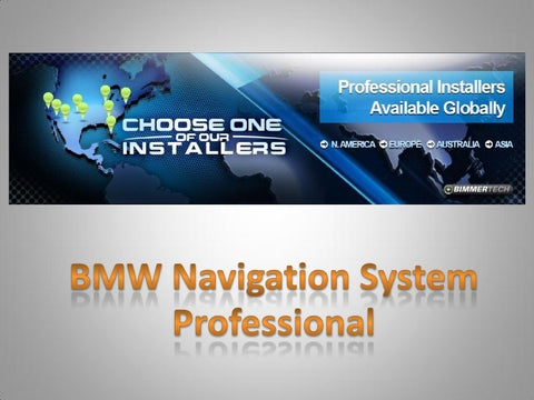 Bmw navigation system professional by Bimmertech - issuu