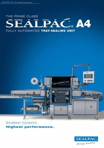 Sealpac Traysealers By Nemco Machinery A S Issuu