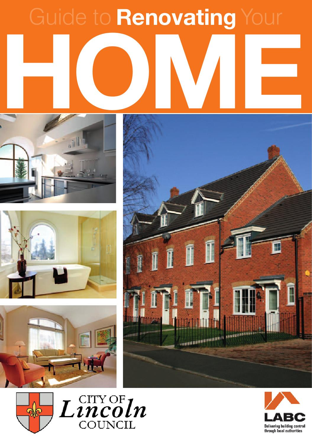 Guide To Renovating Your Home By City Of Lincoln Council