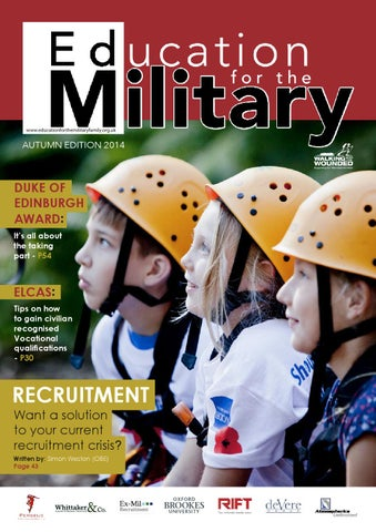 Education for the Military - Autumn Edition 2014 by Education for ... d0ad34e7d169