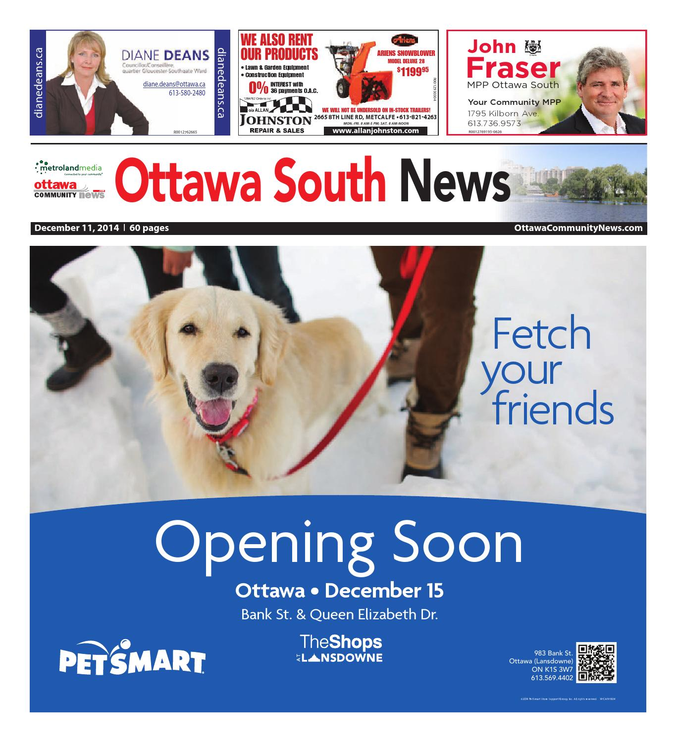 Ottawasouth121114 By Metroland East Ottawa South News Issuu