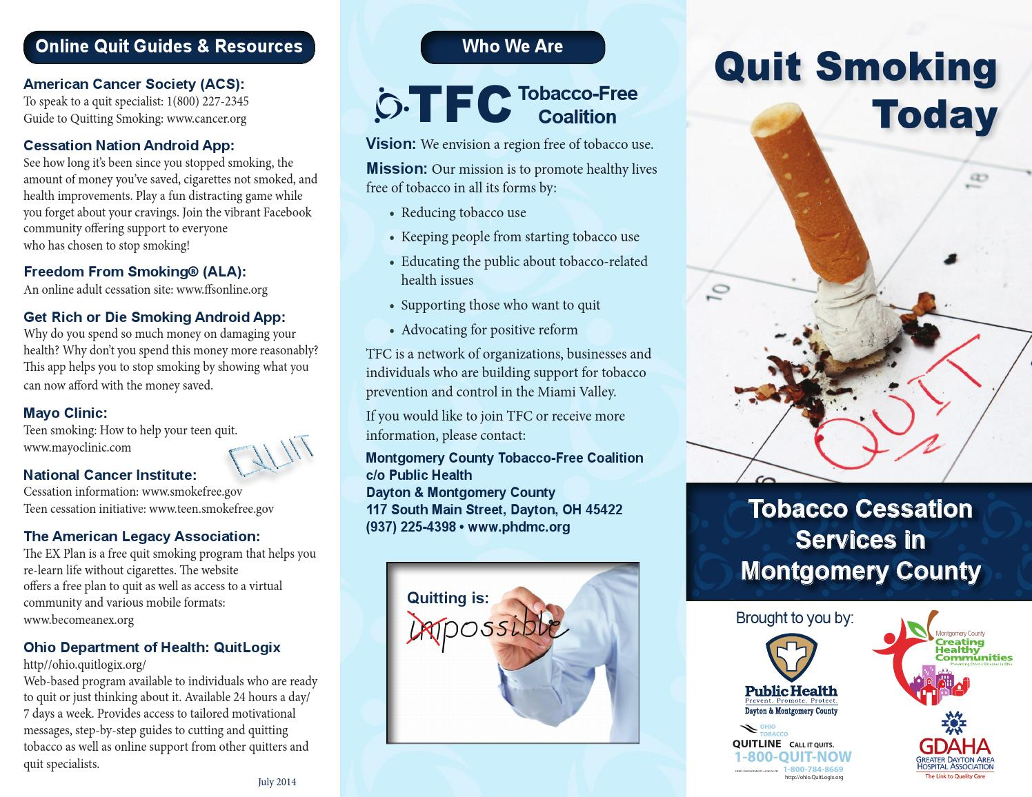 health promotion for smoking cessation
