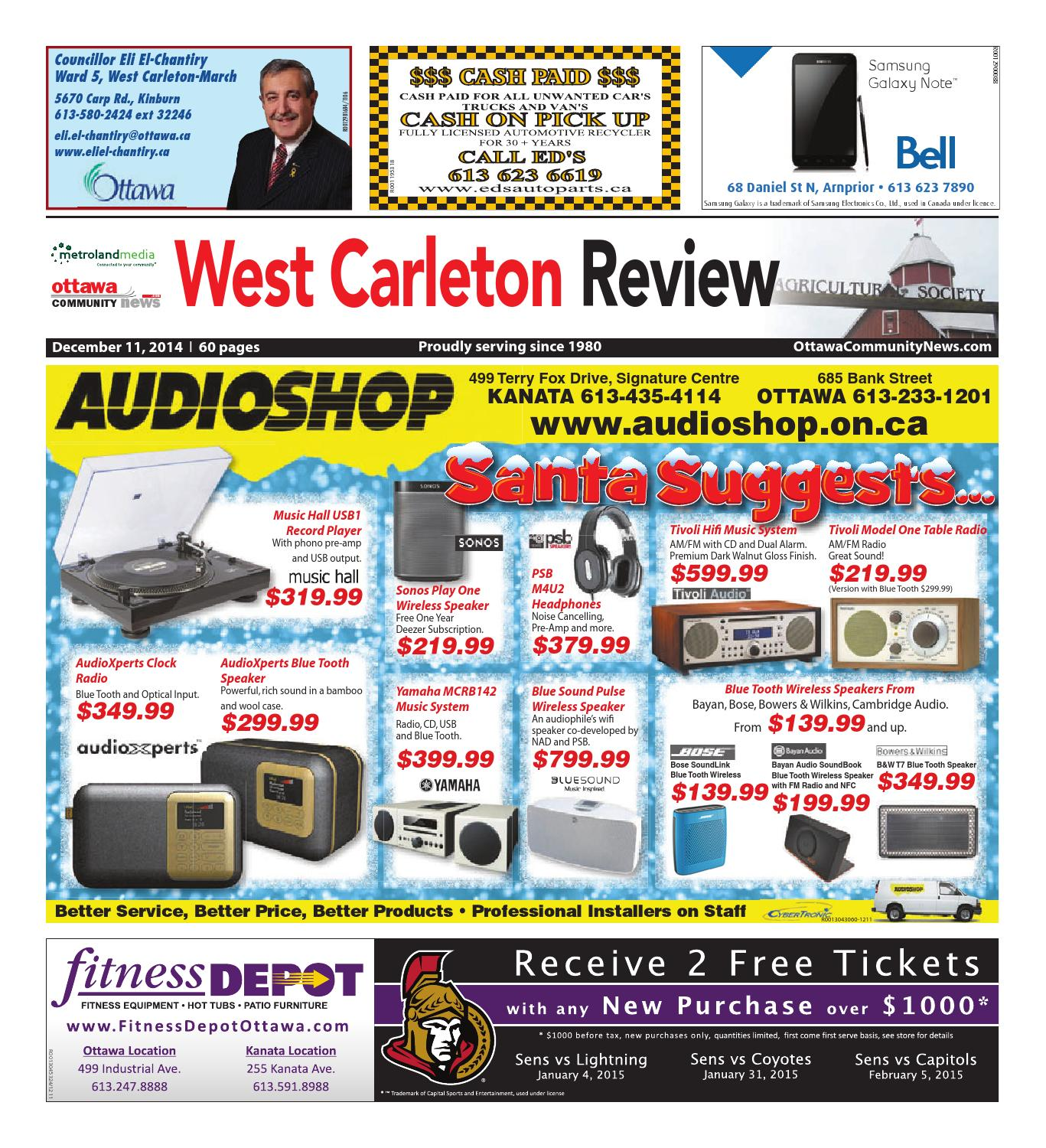 Westcarleton121114 by Metroland East - West Carleton Review