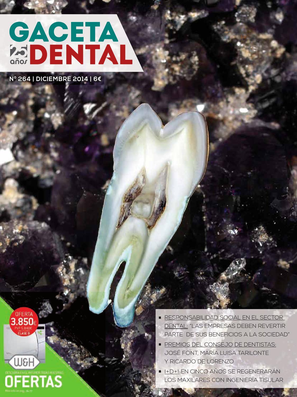 Gaceta Dental - 264 by Peldaño - issuu
