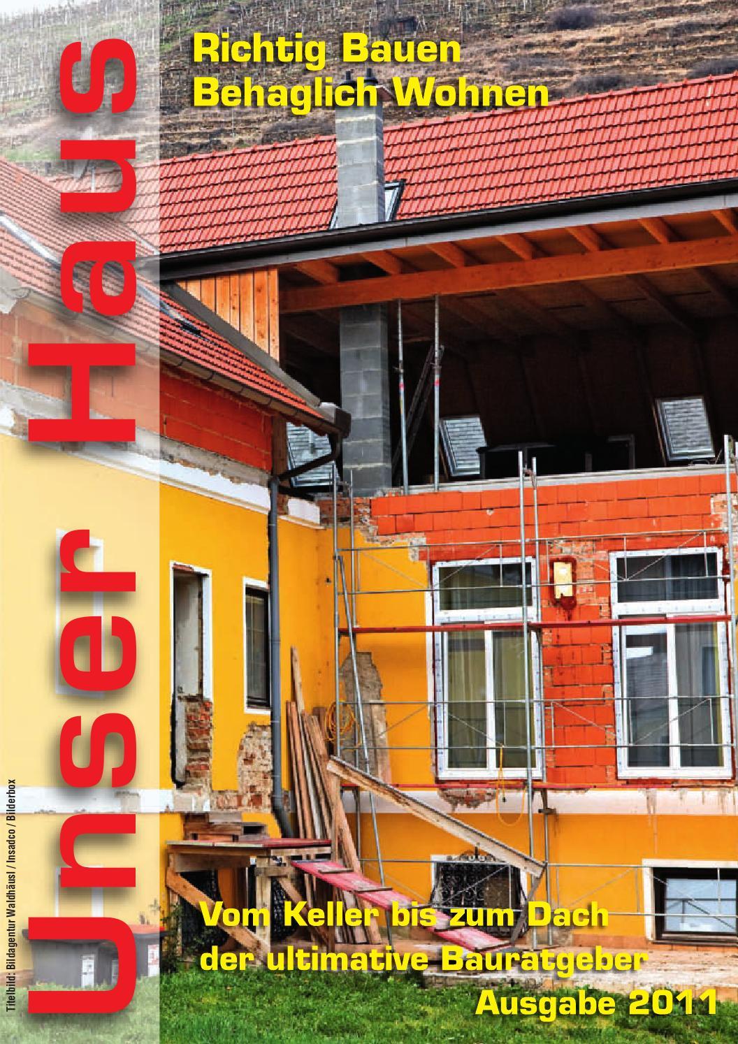 Unser Haus 2011 by Roland Kanfer - issuu
