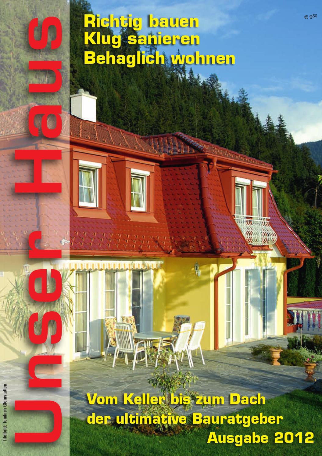 Unser Haus 2012 by Roland Kanfer - issuu