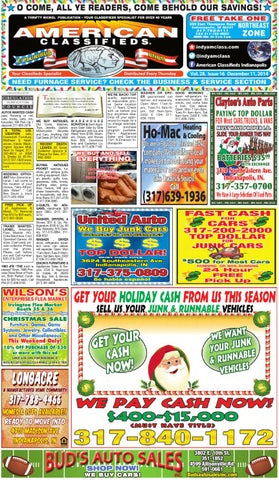American classifieds 121114 web by american classifieds page 1 fandeluxe Gallery