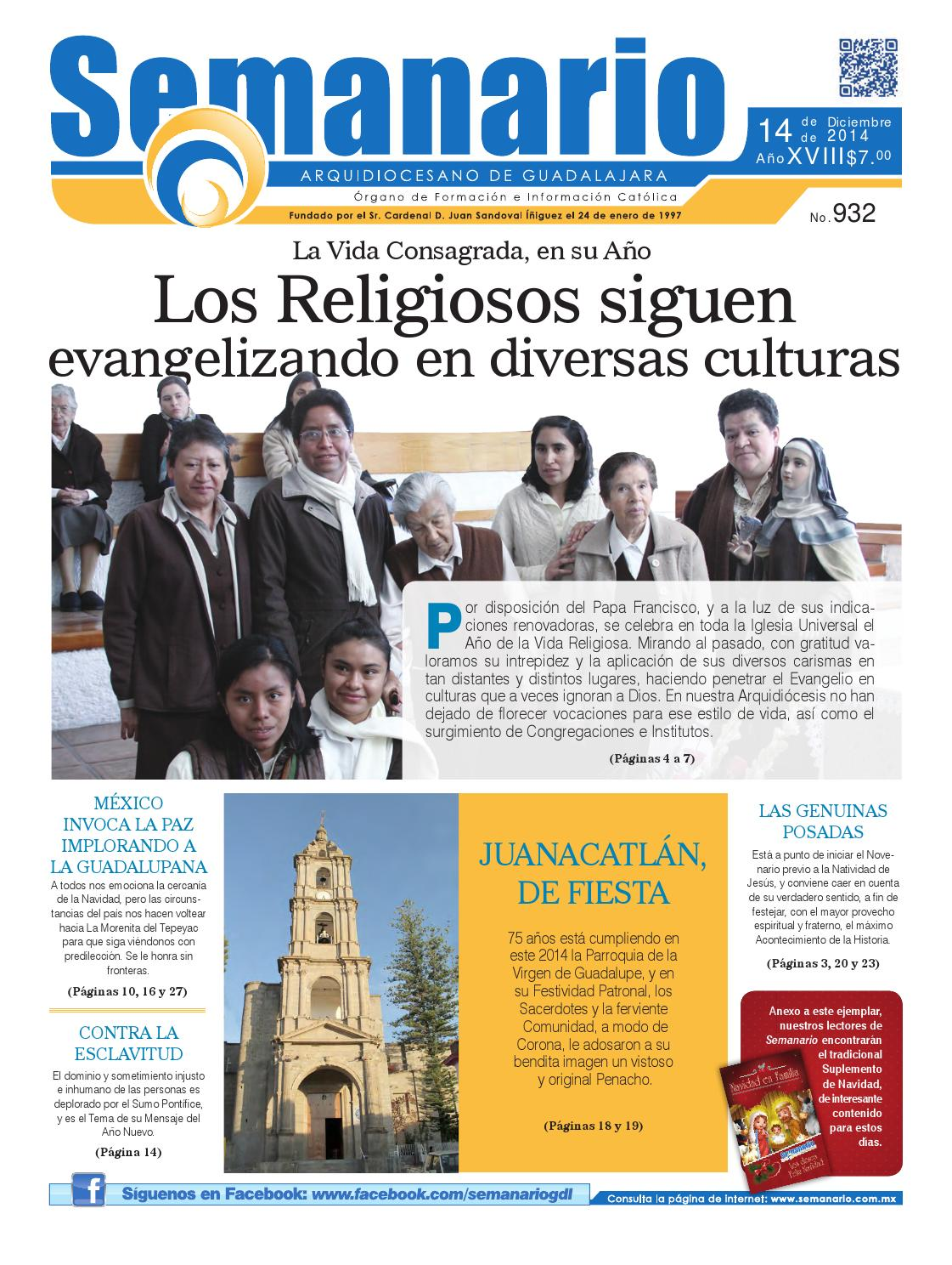 6b3a6d2a9e9 Semanario  932 by Semanario Arquidiocesano de Guadalajara - issuu