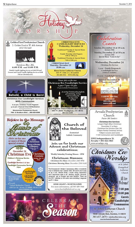 colorado community church christmas services
