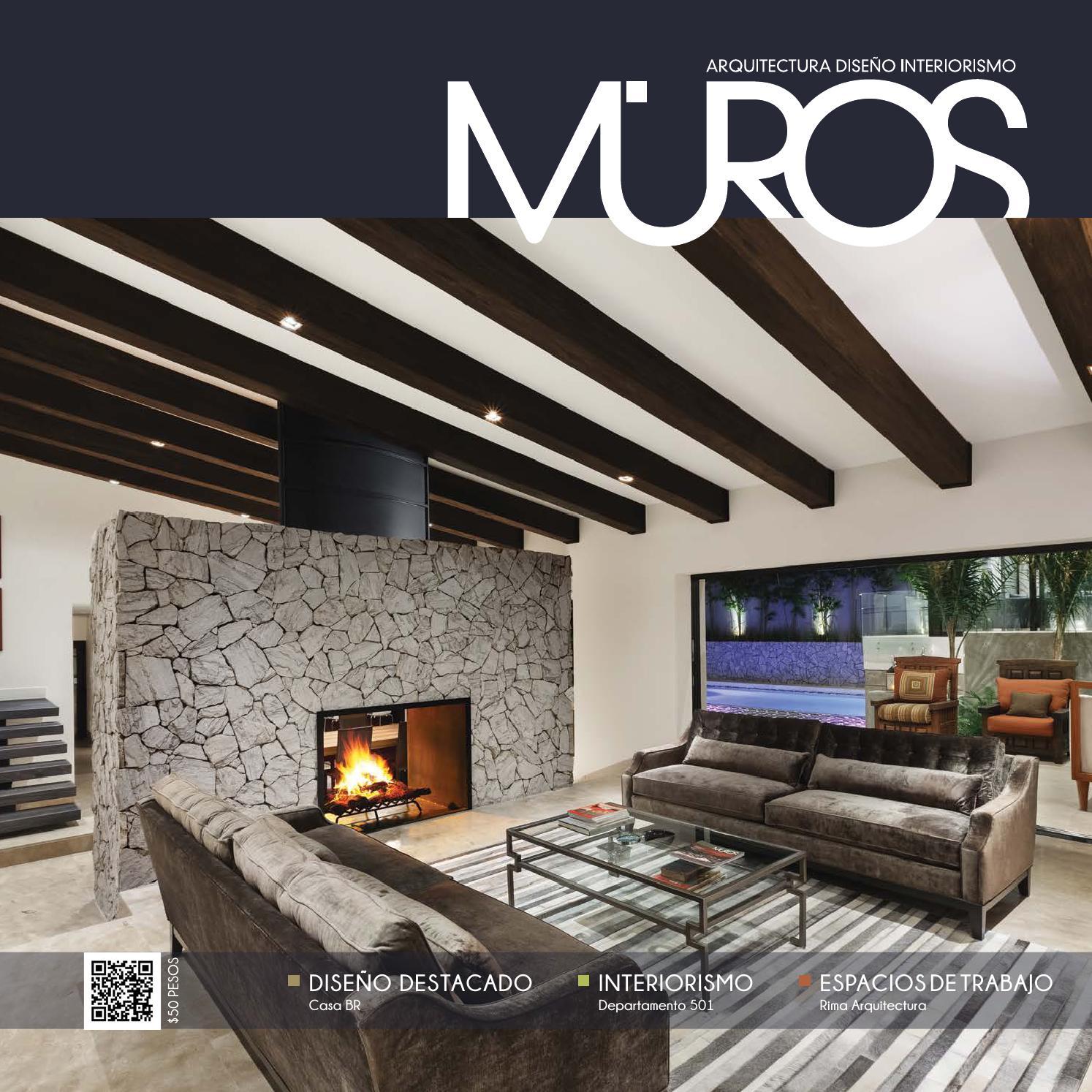 Edici n 14 revista muros arquitectura dise o for Revista habitat arquitectura diseno interiorismo