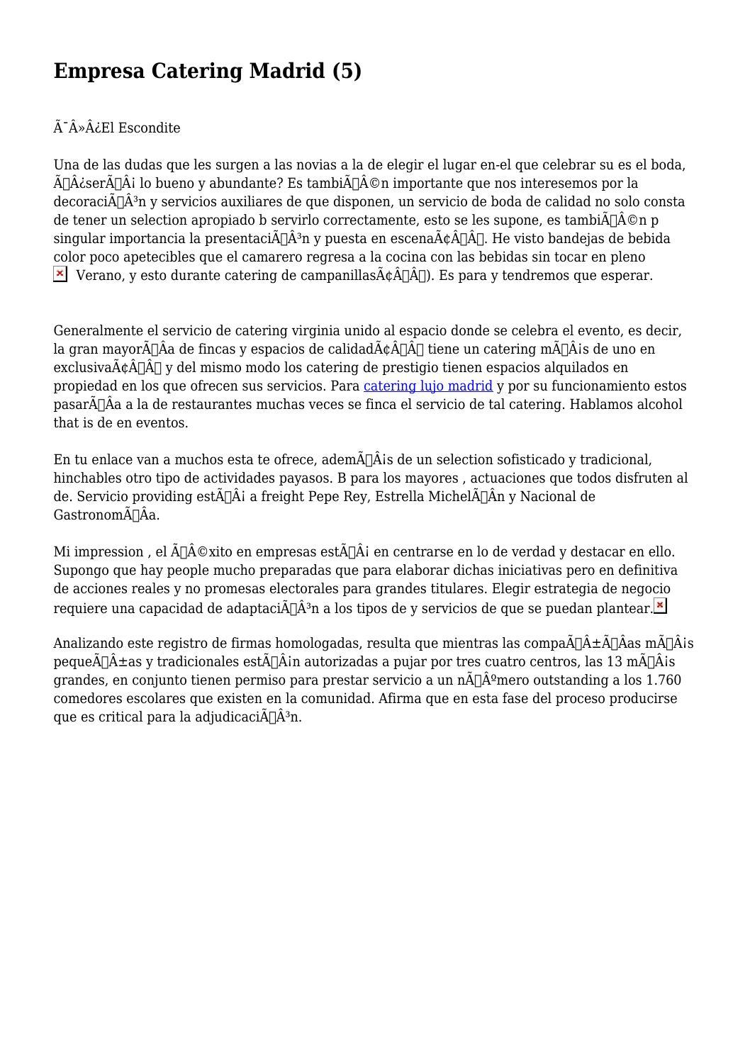 Empresa Catering Madrid (5) by ignorantalcove262 - issuu