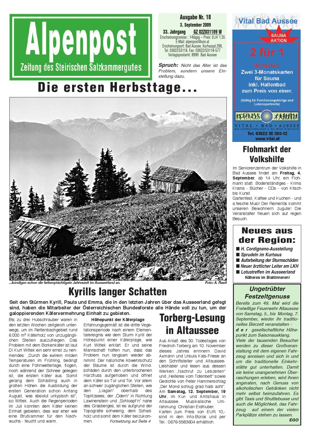 Alpenpost 18 2009 by Alpenpost Redaktion - issuu