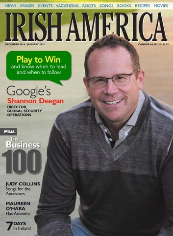 Irish America December January 2015 By Irish America Magazine Issuu