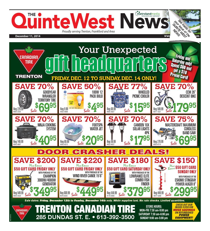 29959a555ed Quinte121114 by Metroland East - Quinte West News - issuu