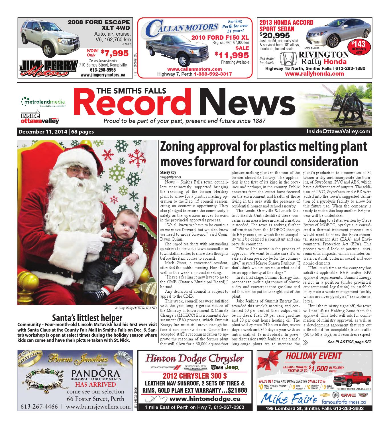 642eb4e160 Smithsfalls121114 by Metroland East - Smiths Falls Record News - issuu